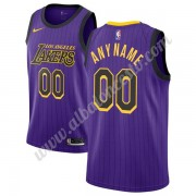 Camisetas Baloncesto NBA Los Angeles Lakers 2019-20 Púrpura City Edition Swingman..
