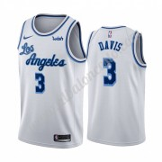 Camisetas Baloncesto NBA Los Angeles Lakers 2019-20 Anthony Davis 3# Blanco Classics Edition Swingma..