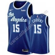 Camisetas Baloncesto NBA Los Angeles Lakers 2019-20 DeMarcus Cousins 15# Azul Classics Edition Swing..