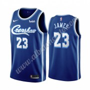 Camisetas Baloncesto NBA Los Angeles Lakers 2019-20 LeBron James 23# Azul Classics Edition Swingman..