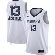 Camisetas NBA Niños Memphis Grizzlies 2019-20 Jaren Jackson Jr. 13# Blanco Association Edition Swing..