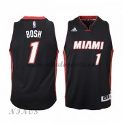 Camisetas Baloncesto Niños Miami Heat 2015-16 Chris Bosh 1# NBA Road..
