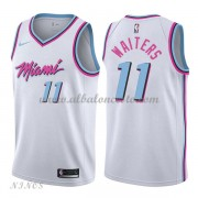 Camisetas Baloncesto Niños Miami Heat 2018 Dion Waiters 11# City Edition..