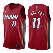 Camisetas Baloncesto Niños Miami Heat 2018 Dion Waiters 11# Statement Edition..