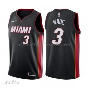 Camisetas Baloncesto Niños Miami Heat 2018 Dwyane Wade 3# Icon Edition..