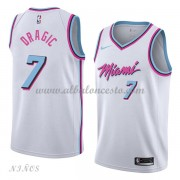 Camisetas Baloncesto Niños Miami Heat 2018 Goran Dragic 7# City Edition..