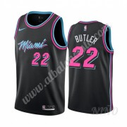 Camisetas NBA Niños Miami Heat 2019-20 Jimmy Butler 22# Negro City Edition Swingman..