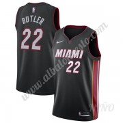 Camisetas NBA Niños Miami Heat 2019-20 Jimmy Butler 22# Negro Icon Edition Swingman..