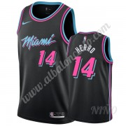 Camisetas NBA Niños Miami Heat 2019-20 Tyler Herro 14# Negro City Edition Swingman..