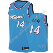 Camisetas NBA Niños Miami Heat 2019-20 Tyler Herro 14# Azul City Edition Swingman..
