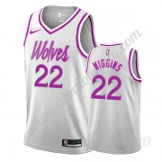 Camisetas NBA Niños Minnesota Timberwolves 2019-20 Andrew Wiggins 22# Blanco Earned Edition Swingman..