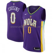 Camisetas Baloncesto NBA New Orleans Pelicans 2018  DeMarcus Cousins 0# City Edition..