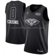 New Orleans Pelicans DeMarcus Cousins 0# Black 2018 All Star Game Swingman Basketball Jersey..