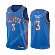 Camisetas NBA Niños Oklahoma City Thunder 2019-20 Chris Paul 3# Azul Icon City Edition Swingman..