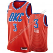 Camisetas Baloncesto NBA Oklahoma City Thunder 2019-20 Chris Paul 3# naranja Statement Edition Swing..