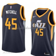 Camisetas Baloncesto Niños Utah Jazz 2018 Donovan Mitchell 45# Icon Edition..