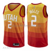 Camisetas Baloncesto Niños Utah Jazz 2018 Joe Ingles 2# City Edition..