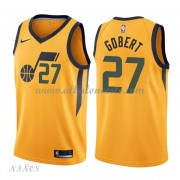 Camisetas Baloncesto Niños Utah Jazz 2018 Rudy Gobert 27# Statement Edition..