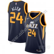 Camisetas NBA Niños Utah Jazz 2019-20 Grisson Allen 24# Armada Icon Edition Swingman..