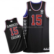 West All Star Game 2015 Demarcus Cousins 15# NBA Equipaciones Baloncesto..